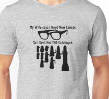 Getting New Lenses Unisex T-Shirt