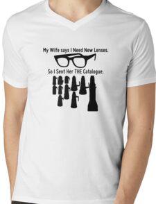 Getting New Lenses Mens V-Neck T-Shirt