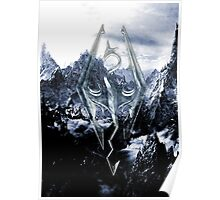 Skyrim Winter Poster Poster