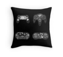 X-ray Controller Throw Pillow