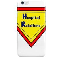 HR Hospital Relations iPhone Case/Skin