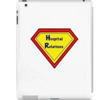 HR Hospital Relations iPad Case/Skin