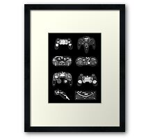 4 X-ray Controller Framed Print