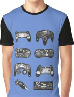 4 X-ray Controller Graphic T-Shirt