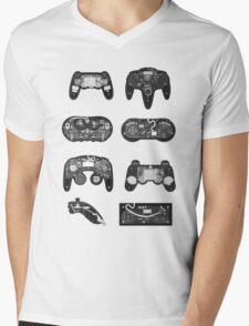 4 X-ray Controller Mens V-Neck T-Shirt