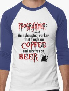 Programmer. Men's Baseball ¾ T-Shirt