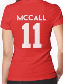 MC 11 Women's Fitted V-Neck T-Shirt