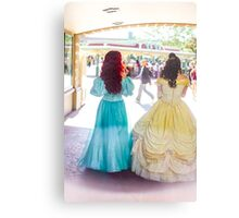 princess walks Metal Print