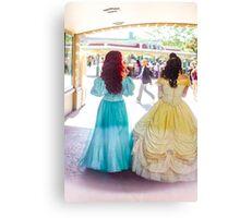 princess walks Canvas Print