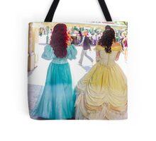 princess walks Tote Bag