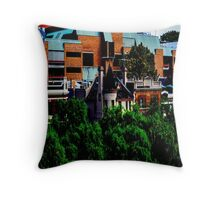 Hotel in The Rocks Throw Pillow