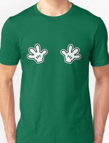 Naughty White Hands Unisex T-Shirt