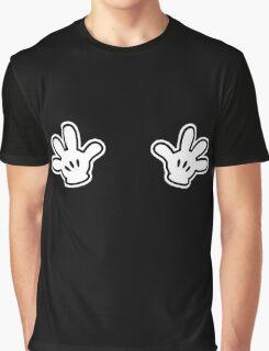 Naughty White Hands Graphic T-Shirt