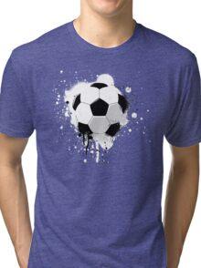 Soccer splatter Tri-blend T-Shirt