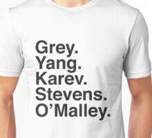 Grey's Anatomy Doctors  Unisex T-Shirt