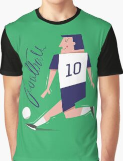 Football player Graphic T-Shirt