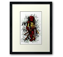 Predator Big Red Framed Print