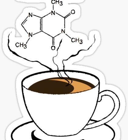 .Caffeine Sticker