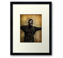 Reaper Lincoln Framed Print