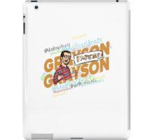 Graybear Grayson iPad Case/Skin