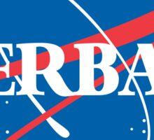Kerbal Space Program NASA logo (large) Sticker