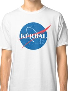Kerbal Space Program NASA logo (large) Classic T-Shirt