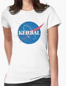 Kerbal Space Program NASA logo (large) Womens Fitted T-Shirt
