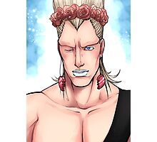 Flower Crown Polnareff Photographic Print
