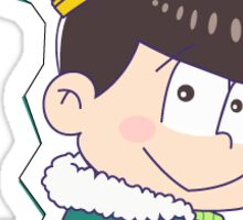King Choromatsu (Happy Version) Sticker