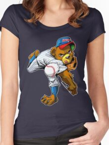The strongest arm in Chi-Town Women's Fitted Scoop T-Shirt