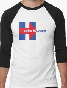 Never gon' be President now Men's Baseball ¾ T-Shirt