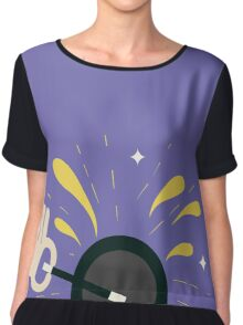 Magician with magical wand Chiffon Top