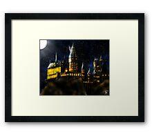 Castle by Night Framed Print