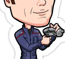 Star Trek Enterprise - Lieutenant Malcolm Reed Armory Officer Sticker