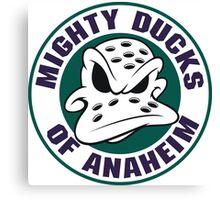 Mighty Ducks of Anaheim Movie NHL Hockey League Canvas Print
