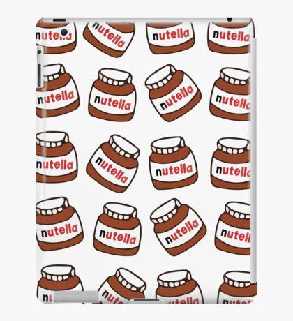 nutella pattern iPad Case/Skin
