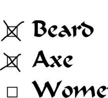 Viking Happiness Checklist Sticker