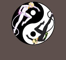 """Chat Noir and Chat Blanc """"Yin and Yang"""" Unisex T-Shirt"""