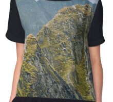 Mountain landscape Chiffon Top