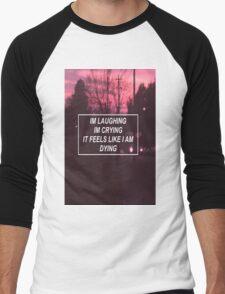 pity party lyrics  Men's Baseball ¾ T-Shirt