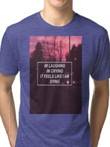 pity party lyrics  Tri-blend T-Shirt