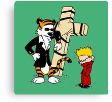 CROSS CALVIN & HOBBES Canvas Print