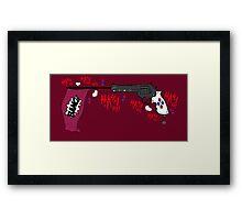 Harley's Little Helper Framed Print