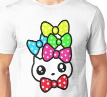 Ribbon Kitty Unisex T-Shirt