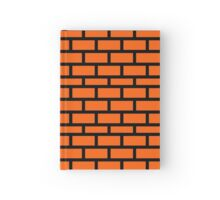 Super Mario Brick Pattern Hardcover Journal
