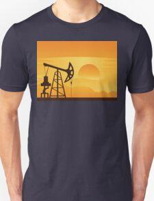 Oil Pump at Sunset T-Shirt