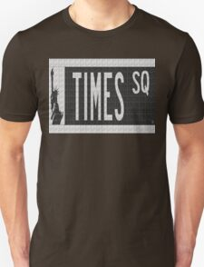 Times Square New York City Street Sign Deco Swing T-Shirt