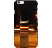 the road to a twisty conclusion iPhone Case/Skin