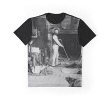 Shearers Hut c1900 Graphic T-Shirt