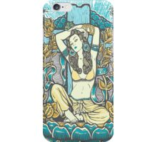 Mexican American Goddess Chicano Vintage LA Pinup iPhone Case/Skin